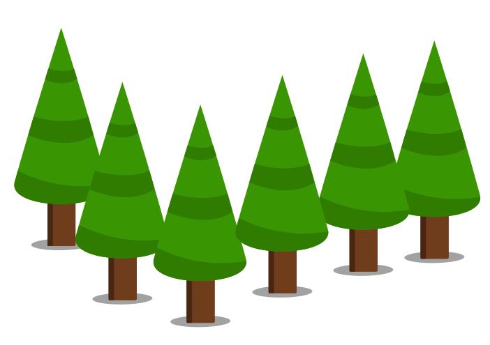 Árvores Inkscape